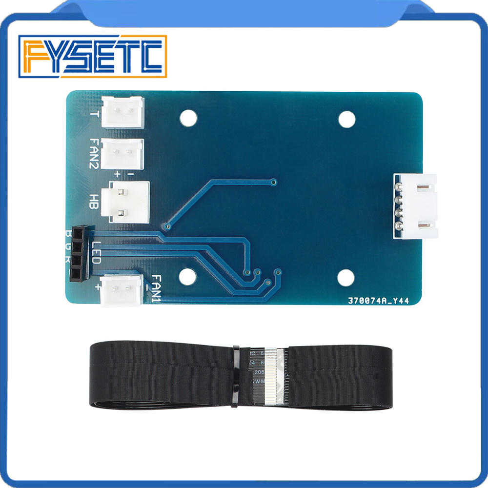 3D Printer Accessories Parts Hot End PCB Adapter Board and 24-pin Cable Kit for Artillery Sidewinder X1 3D Printer