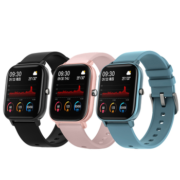 2020 1.4 inch Smart Watch Men Full Touch Smartwatch Fitness Tracker Blood Pressure Fitness Tracker Smart Clock Women Smartwatch