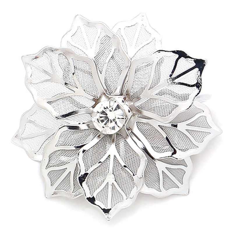 Legering bloem Ontwerp Servetringen voor Bruiloft Recepties Geschenken Vakantie Banket Diner Kerst Tafel Decoratie