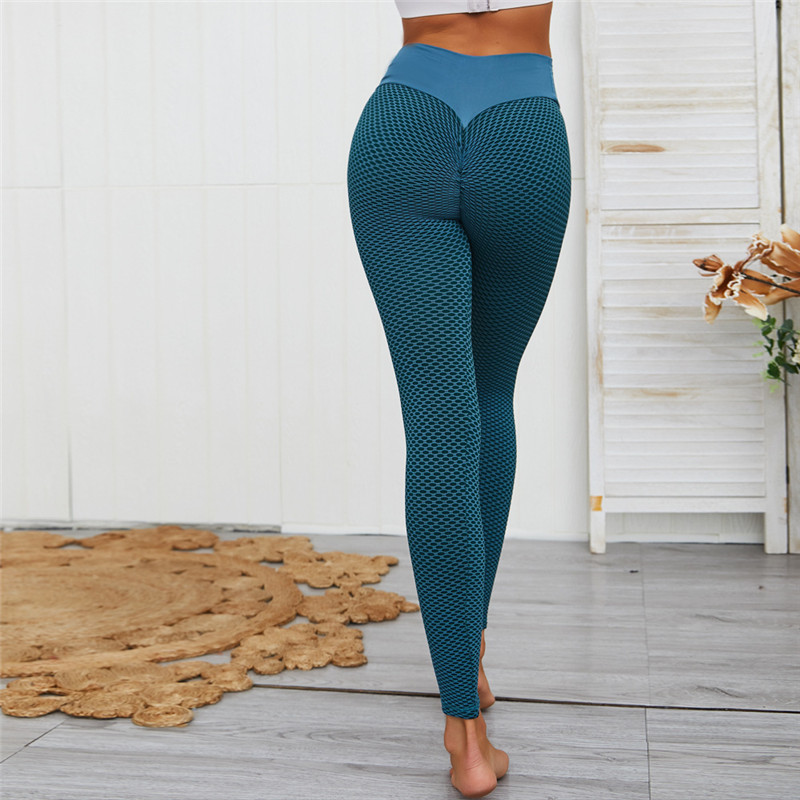 SVOKOR Dot Women Leggings High Waist Fitness Legging Push Up Ladies Seamless Workout Pants Female Leggins Mujer Polyester Casual 2