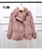 Aorice women winter leisure real fox fur overcoat warm jacket girl coat lady jacket overcoat CT939