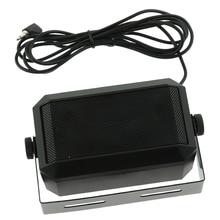 CB Radio External Speaker HAM Radio Audio Communication Speaker 3.5mm Interface Plug Mini Loudspeaker for Kenwood Mobile Radio