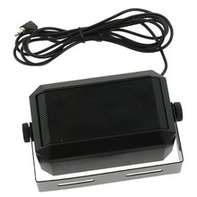 Cb Radio Externe Luidspreker Ham Radio Audio Communicatie Speaker 3.5 Mm Interface Plug Mini Luidspreker Voor Kenwood Mobiele Radio(China)
