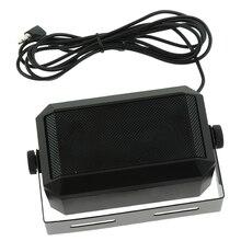 CB Radio altavoz externo HAM Radio, altavoz de comunicación de 3,5mm, Mini altavoz con enchufe de interfaz para Radio móvil Kenwood