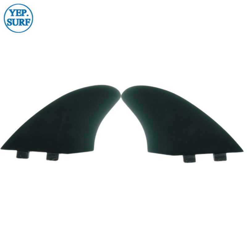 Surf FCS/Future Keel Fins Twin Fin Set Keel Fin Set Surfing FCSII Green Color Fins Surfboard Fin