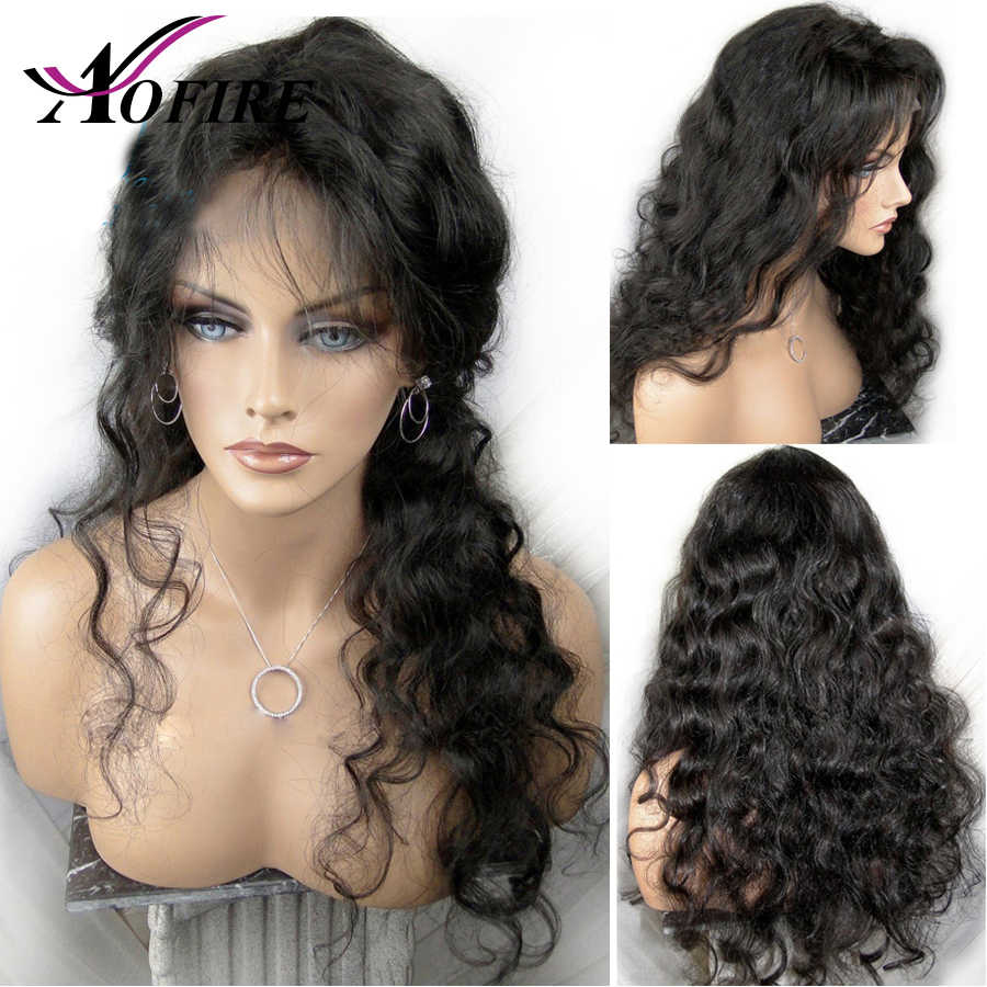 13X6 Lace Front Human Hair Wigs With Baby Hair Brazilian Remy Body Wave Hair For Black Women Bleached Knots Natural Hairline