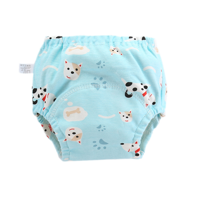 Baby Diapers Reusable Nappies Cloth Diaper Washable Infants Children Baby Cotton Training Pants Panties Nappy