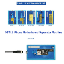 Sonnenschein SS-T12A Für iPhone X XS max 6 7 8 Motherboard Separator Heizung Station Gesicht CPU IC Chips Heizung Demontage reparatur