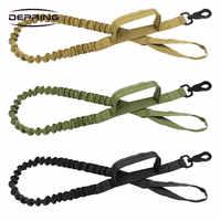 Taktische Molle Ausbildung Bungee Hund Leine Militär Polizei Hund Ausbildung Leine Seil mit 2 Control Griff für Jagd