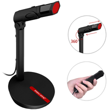 UK 3.5mm USB Wired Condenser Microphone for Computer Laptop Recording Gaming Podcasting Audio Studio Vocal