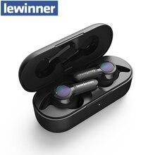 Lewinner TS04 TWS gerçek kablosuz kulaklık ile 2 mikrofon, CVC 8.0 gürültü azaltma, 40H çalma süresi, IPX7 su geçirmez kulaklık