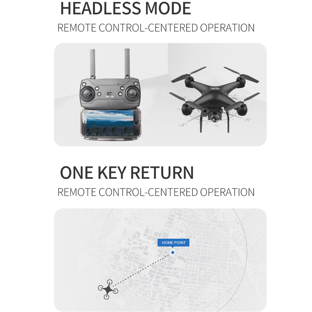 Drone HD 4k WiFi 1080p fpv drone flight 20 minutes control distance 150m quadcopter drone with camera 6