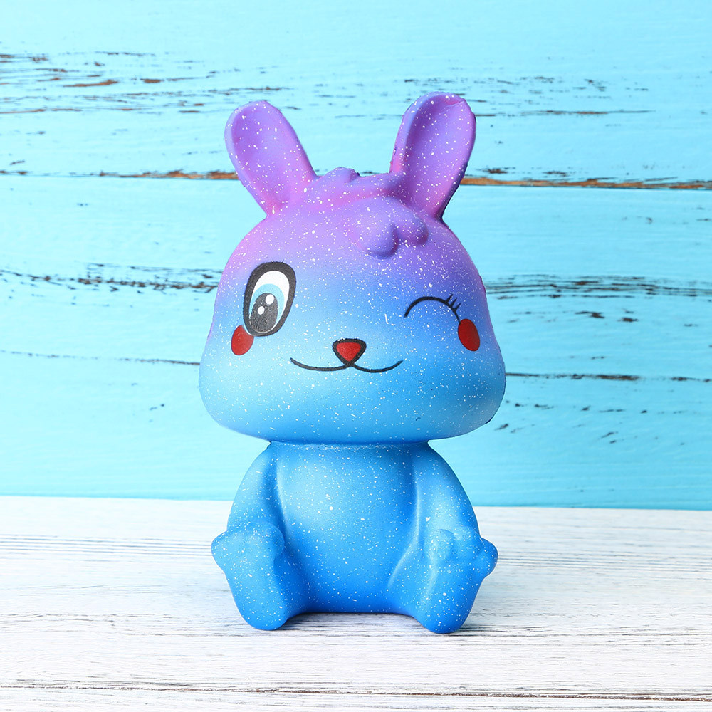 Jumbo Rabbit Slow Rising Squishies Scented  Squeeze Toy Reliever Stress Gift