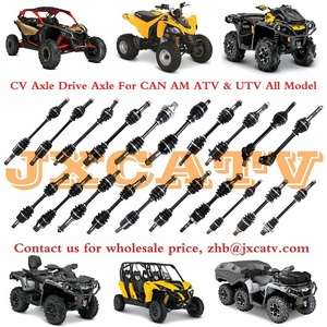 Image 5 - CV Boot Kits of Axle Drive Shaft fits for CAN AM 400 OUTLANDER 500 CAN AM 500 RENEGADE 800 AND CAN AM 1000 COMMANDER