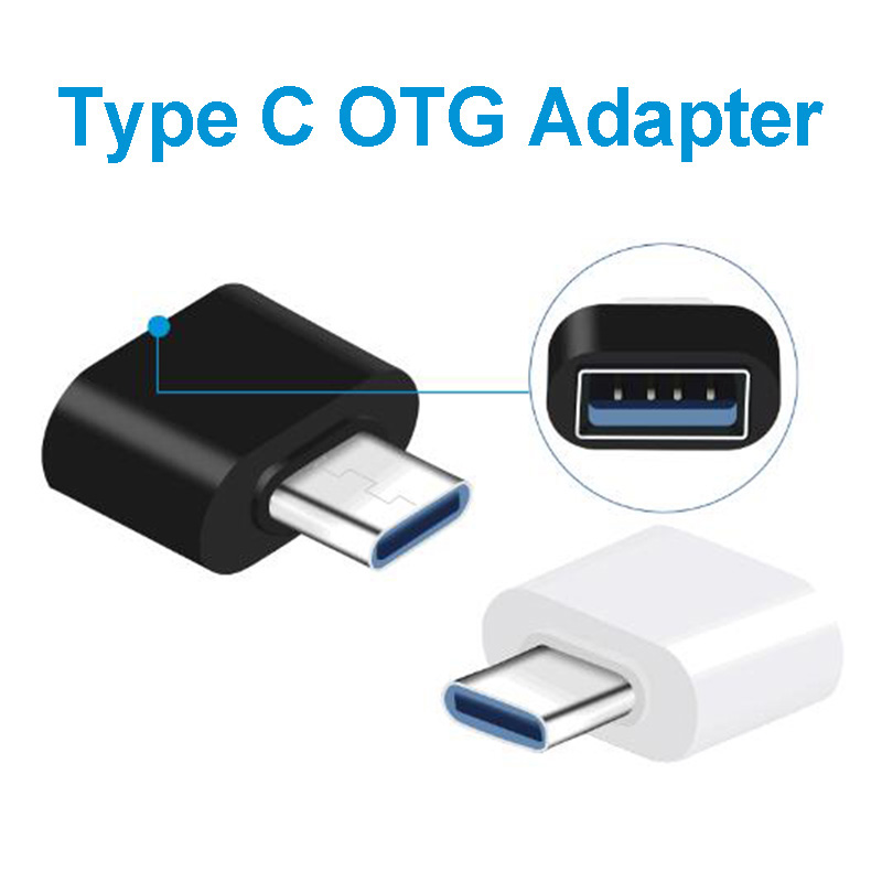 Type-C OTG Aadapter USB To Type C Converter OTG Micro Usb Adaptador Micro Usb A USB C Jack Splitter For Macbook Samsung Huawei