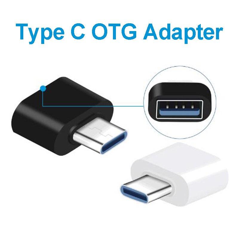 Type-C OTG Aadapter USB To Type C Converter OTG Micro Usb Adaptador Micro Usb A USB C Jack Splitter For Macbook Samsung Huawei