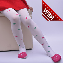 Cotton Knitted Pantyhose For Children In Spring And Summer