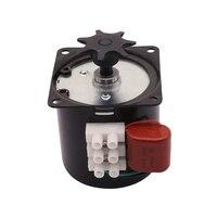 2 szt. Inkubator automatyczny silnik do obracania jaj 220V lub 110V przekładnia zwalniająca sterowany silnik synchroniczny z magnesami trwałymi w Klatki i akcesoria od Dom i ogród na