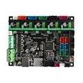 MKS SGEN L V1.0 UART TMC2208 бесшумные драйверы + радиаторы TMC2130 SPI заменить Cortex-M3 LPC 1768 основные платы управления для 3d принтера