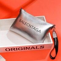 Bag Women's 2019 New Style WOMEN'S Bag Summer Nappa Leather WOMEN'S Leather Bags Clutch Shoulder Wrist Wrap