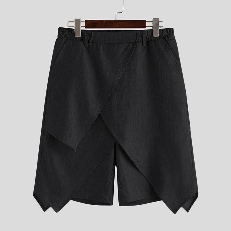 corrida, streetwear casual, irregular, cintura elástica, 2020