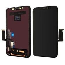 Apple iphone xr lcd 디스플레이 터치 스크린 (프레임 및 도구 포함) 강화 유리 어셈블리 교체