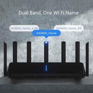 Image 2 - Xiaomi AIoT беспроводной маршрутизатор 6 AX3600 2,4 ГГц Wi Fi 5 ГГц Wi Fi ретранслятор 2976 Мбит/с двумя антеннами 512 Мб оперативной памяти 6 Сетевой удлинитель APP управление