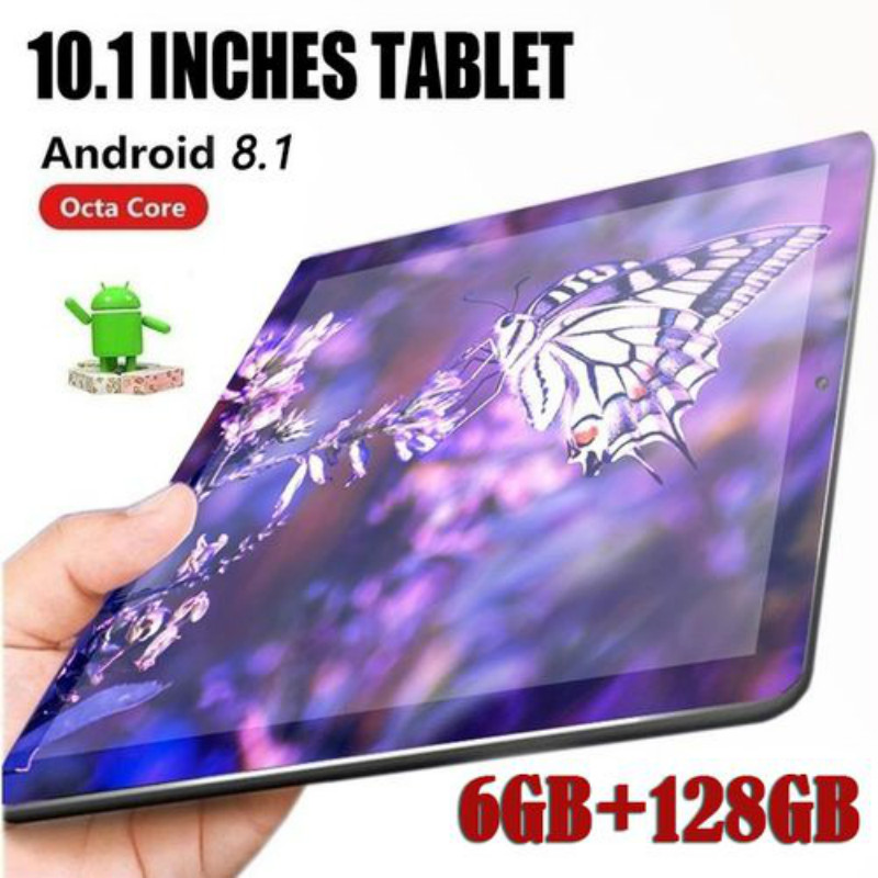 10.1inch Tablets With 6GB+128GB Large Memory WiFi Tablet PC Support Dual SIM Card Tablet With 4G Phone Call Tablet 10 Core