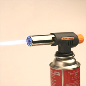 Automatic Ignition Baking Welding Tool Gas Torch Flamethrower Butane Burner for BBQ Camping Outdoor Hiking Fire Flame Gun