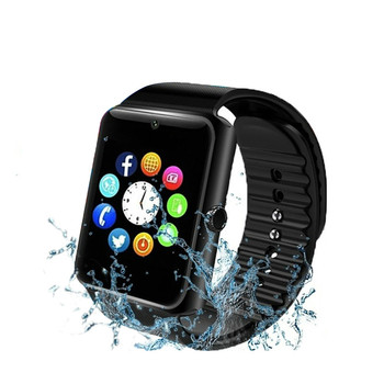 Support 2G SIM TF Card Camera Bluetooth Men Smart Watch Waterproof Smartwatch Men's Watch Digital Clock for Android IOS PK X6Z60 c5 smart watch mtk2502 heart rate monitor sports clock smartwatch waterproof relogio support sim card for ios android pk amazfit