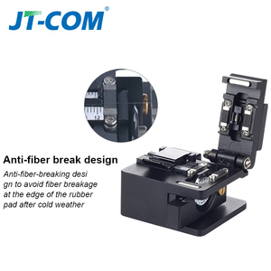 Image 4 - Fiber cleaver optical fusion Cable Cutting Knife FTTH single mode metal Fiber Optic Knife Tools cutter High Precision Cleavers