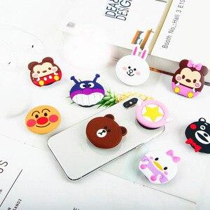 Image 3 - Suporte Do Telefone Móvel dos desenhos animados para O Iphone X XS MAS Samsung Bonito Aperto Anti Queda Airbag Bracket Suporte de Montagem para telefone móvel