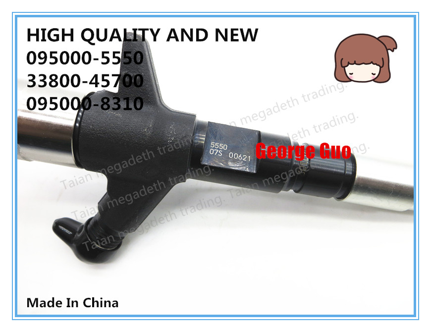 HIGH QUALITY AND NEW DIESEL FUEL INJECTOR 095000 5550, 33800 45700, 095000 8310 FOR HD78 3.9L ENGINEFuel Inject. Controls & Parts   -