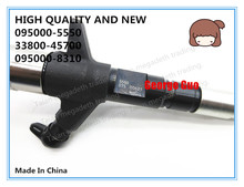 HIGH QUALITY AND NEW DIESEL FUEL INJECTOR 095000 5550, 33800 45700, 095000 8310 FOR HD78 3.9L ENGINE