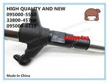 Injetor de combustível diesel de alta qualidade e novo 095000 5550, 33800 45700, 095000 8310 para o motor hd78 3.9l