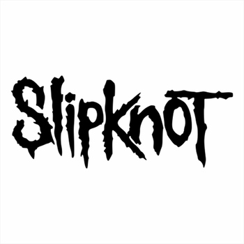 Personality Car Stickers Slipknot Word Decal Decoration Vinyl Waterproof Sunscreen Accessories Black White,15cm*8cm car stickers light bulb skull head motorcycle accessories bumper rear windshield sunscreen waterproof decal vinyl 13cm 8cm