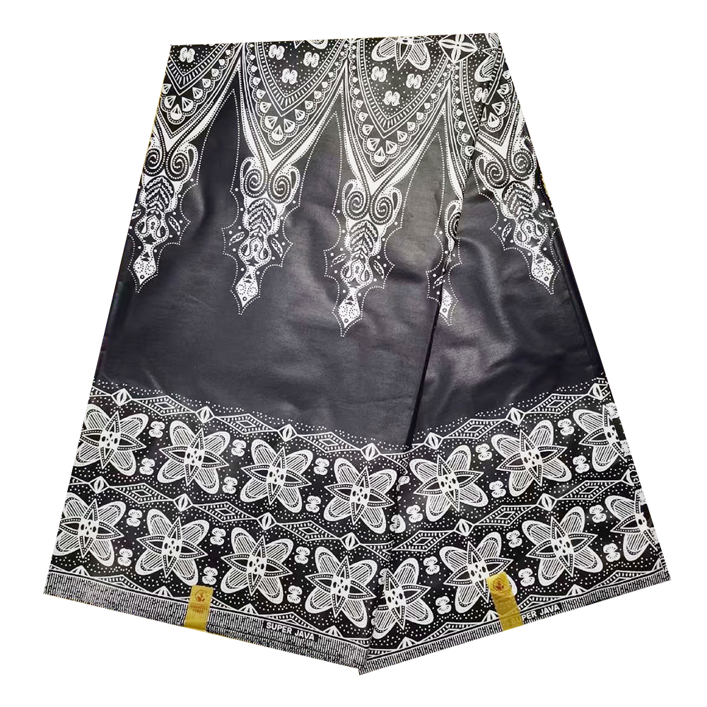 Tulle African Nigerian Super Java Wax Cotton Prints Fabric For Men's Clothes, 2020 High Quality 100% Cotton Wax Pange For Dress