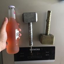 Marvel Raytheon магнит открывалки для пивных бутылок молот в форме Тора открывалка для пивных бутылок с Мстителями C1122 f