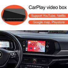 วิดีโอกล่องสำหรับรถยนต์Apple CarPlay,สำหรับMercedes Benz Audi VW Porsche Toyota Honda Hyundai Kia Ford Mazda Nissan Honda Peugeot