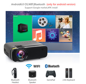 Image 2 - ThundeaL nativa de 720P Mini Proyector Bluetooth Android 6,0 Proyector wi fi TD30 Max LED HD Video HDMI VGA película WiFi 3D Proyector