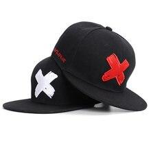 Мужская Женская бейсболка с надписью x женская спортивная кепка