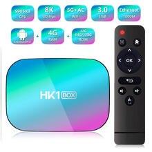 Hk1x3 amlogic s905x3 4 ядра bluetooth 5g wi fi Интернет плеер