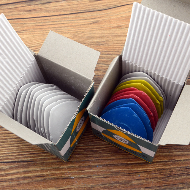 10Pcs Kleine Kleurrijke Wit Draw Uitwisbare Kleermaker Krijt Naaisters Diy Maken Naaien Kleermaker Krijt Kledingstuk Accessoires Tool