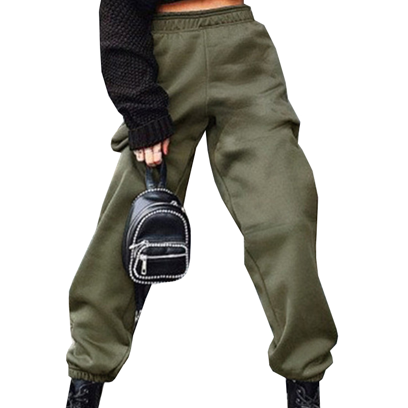 VICABO Cargo Pants Women Joggers Casual Pants Elastic Wasit Legged Joggers Pants Women