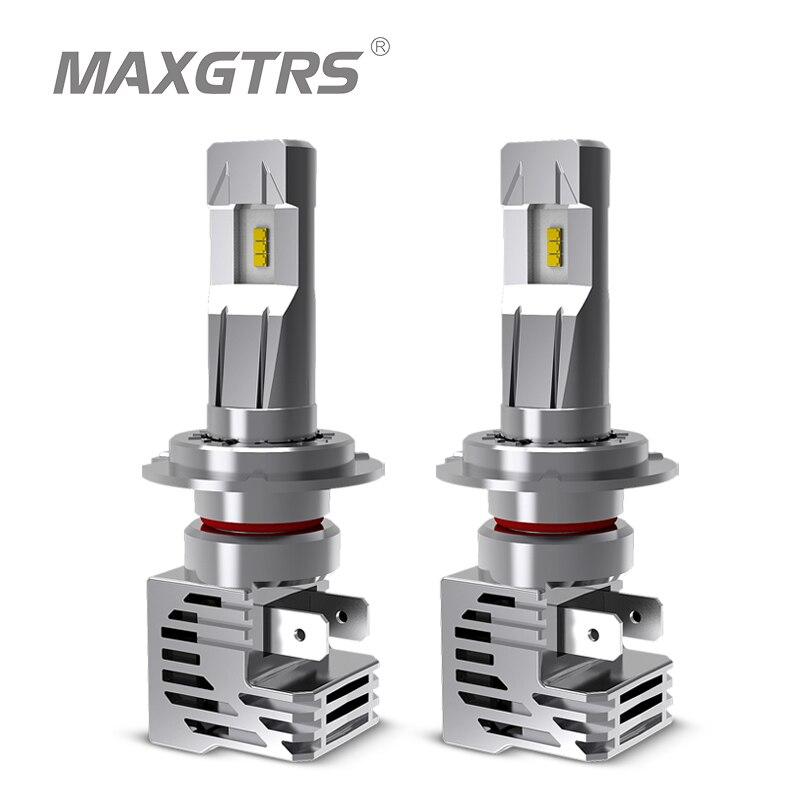 2X H1 H7 H4 H11 H8 H9 HB3 LED 80W 12000LM Car Headlight KIT 6500K Bulb White UK