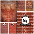 Фотофоны Laeacco с изображением кирпичной стены, 9 дюймов, 3/4 королей, фоны для фотосъемки, крест-станция, волшебные фоны для фотостудии, фотосес...