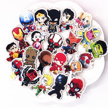 1PCS Hot Selling Marvel Hero Icon Brooch Iron Man Loki Wonder Woman Badge Acrylic Cartoon Pin Bag Clothes Decoration Present(China)