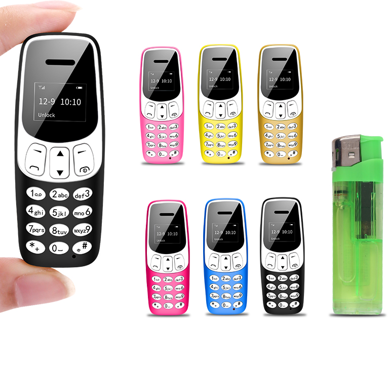 LONG-CZ-teléfono móvil J7 Mini Bar, 0,66 pulgadas, pequeño, inalámbrico, Bluetooth, marcador, FM, Voz Mágica, auriculares manos libres para niños
