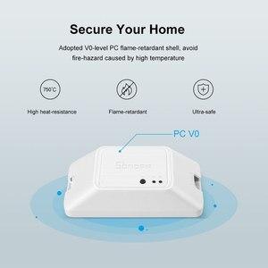 Image 5 - SONOFF BASICZBR3 لتقوم بها بنفسك الذكية زيجبي مفتاح الإضاءة توقيت صغير تتابع وحدة لاسلكية مفتاح بالتحكم عن بعد يعمل مع أليكسا smartthing Hub