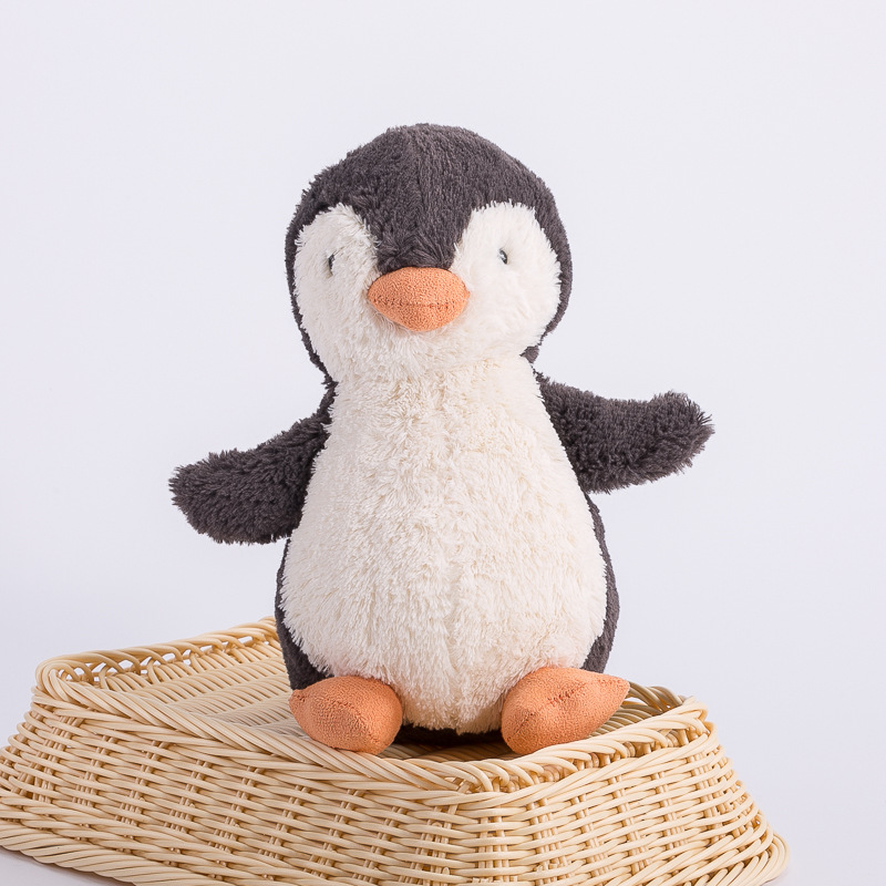 Cute Rabbit Doll Baby Soft Plush Penguin Fox Toys Children Sleeping Mate Stuffed &Plush Animal  Toys For Girls Birthday Gifts